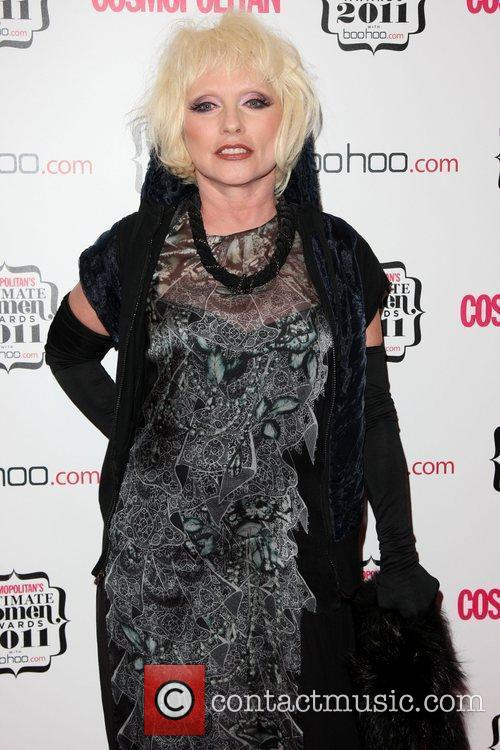 Blondie's iconic frontwoman, Debbie Harry, pictured in 2011