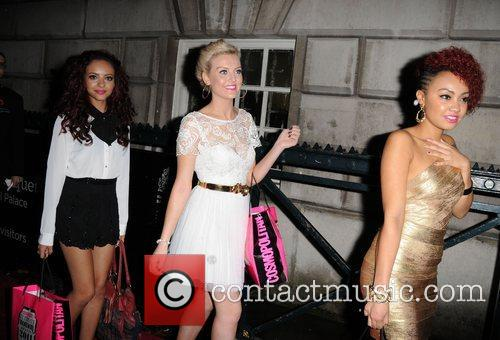 Jade Thirwell, Perrie Edwards and Leigh-Anne Pinnock of...