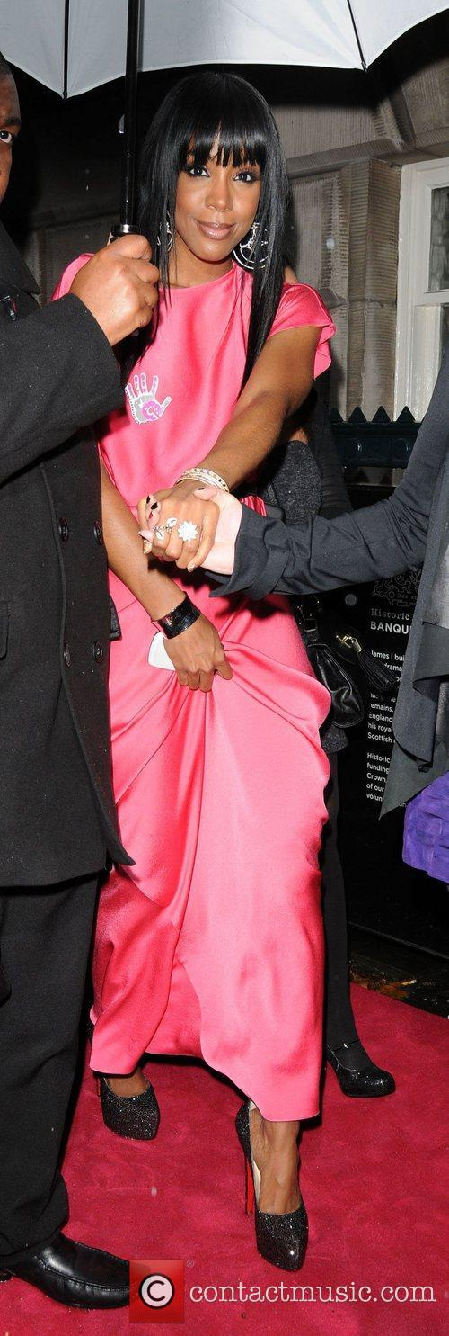 Kelly Rowland leaving the Cosmopolitan Awards 2011 London,...