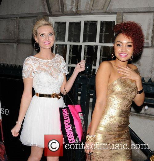 Perrie Edwards and Leigh-Anne Pinnock of Little Mix...