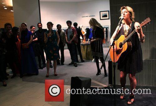 Martha Wainwright Launch of Costume National at Saks...