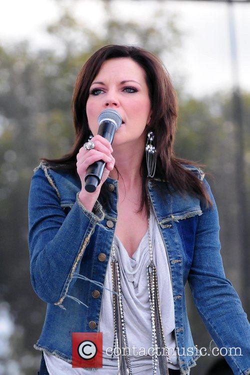 Martina McBride performs  KISS Country Chili Cookoff...