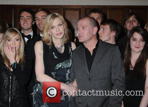 Courtney Love, Gavin Friday Courtney Love is presented...