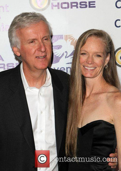 James Cameron and Suzy Amis 5