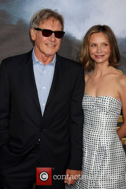 Harrison Ford; Calista Flockhart  'Cowboys and Aliens'...