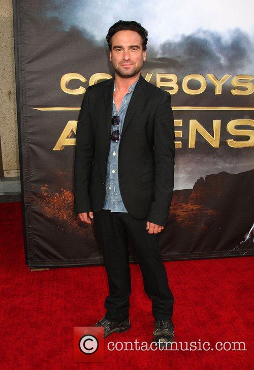Johnny Galecki  'Cowboys and Aliens' premiere at...