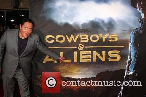 Jon Favreau  'Cowboys and Aliens' premiere at...