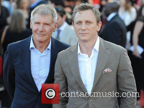 Harrison Ford and Daniel Craig 11