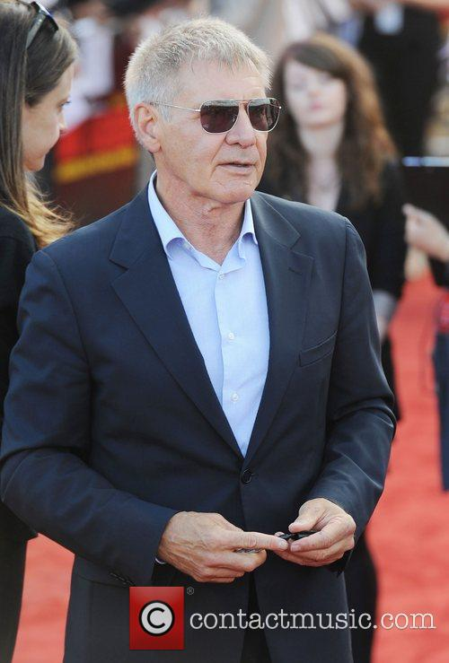 Harrison Ford  The UK premiere of 'Cowboys...