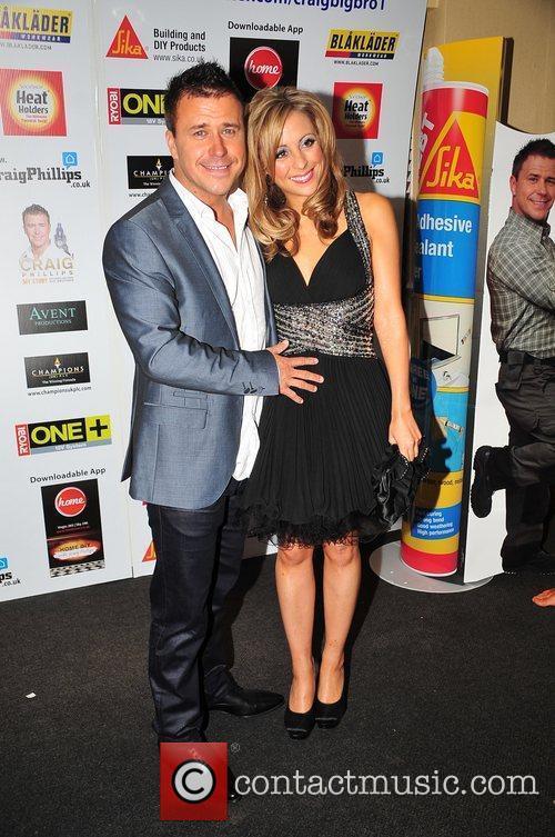 Craig Phillips and Girlfriend Craig Phillips celebrates his...