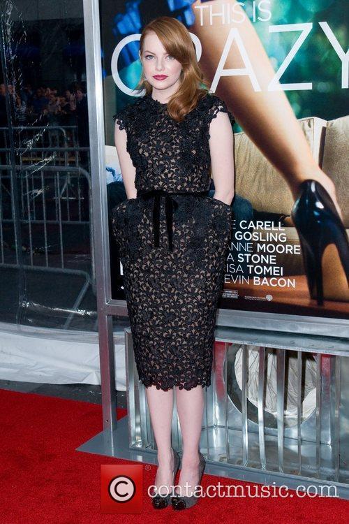 Emma Stone World premiere of 'Crazy, Stupid, Love'...