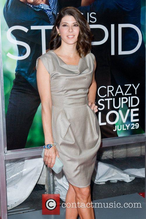 Marisa Tomei World premiere of 'Crazy, Stupid, Love'...