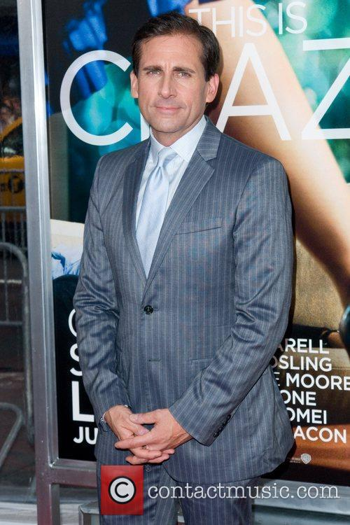 Steve Carell World premiere of 'Crazy, Stupid, Love'...