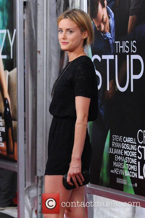 Taylor Schilling World premiere of 'Crazy, Stupid, Love'...