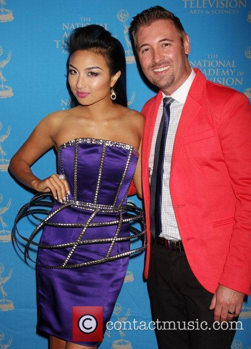 Jeannie Mai and Guest The 38th Annual Daytime...
