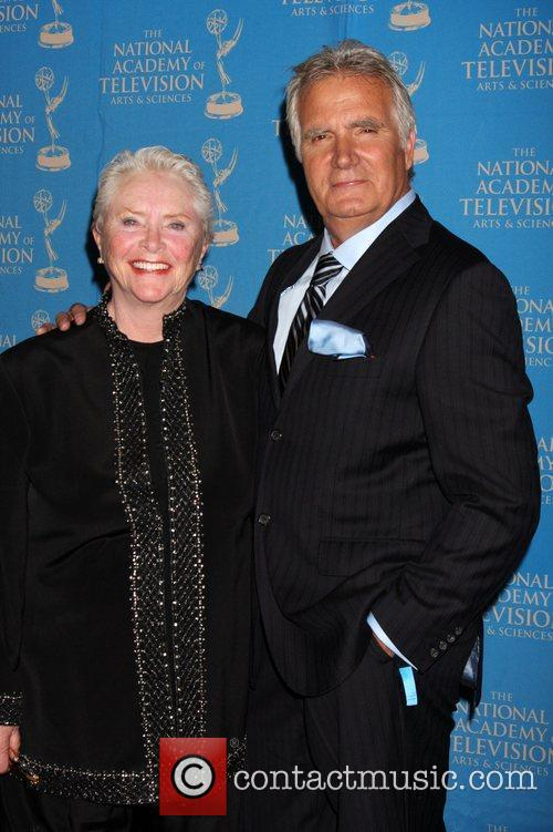 Susan Flannery, John McCook The 38th Annual Daytime...