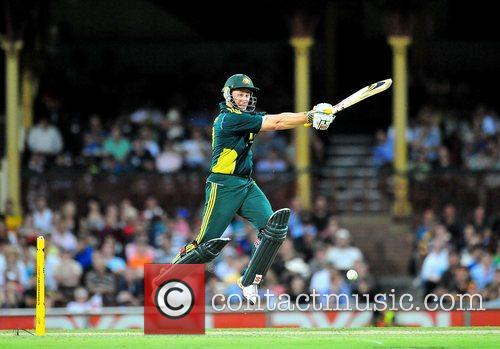 David Hussey One Day International cricket series England...