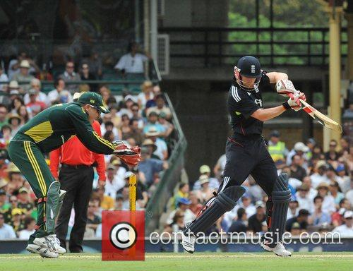 Paul Collingwood One Day International cricket series England...