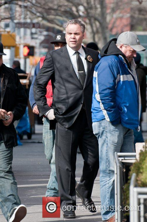 Vincent D'onofrio on The Set of Law &...