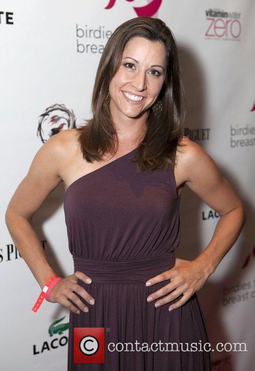 LPGA Champion, Cristie Kerr hosts the kick-off celebration...