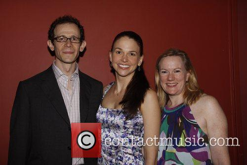 Adam Godley, Sutton Foster and Kathleen Marshall The...
