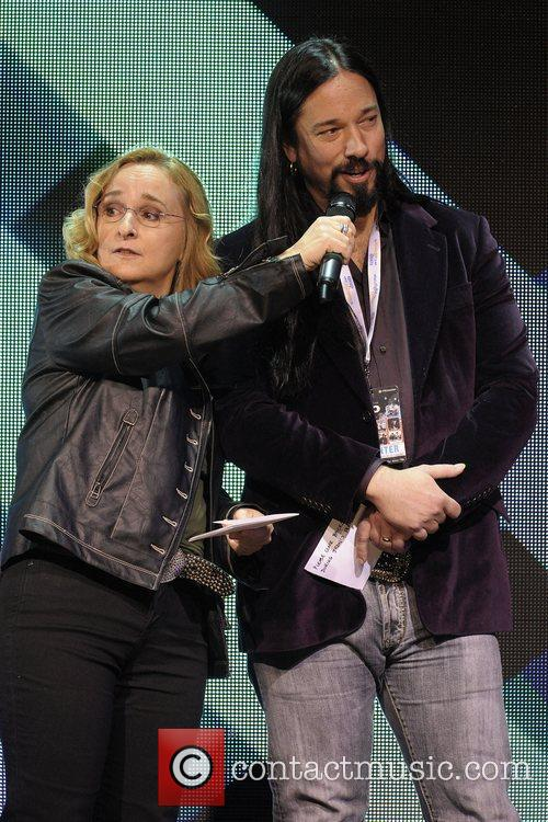 Melissa Etheridge and Rob Baker