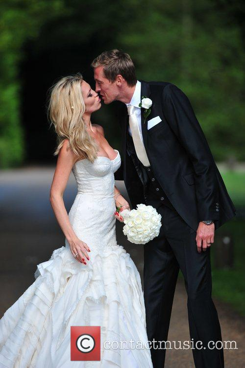 Peter Crouch and Abigail Clancy 3