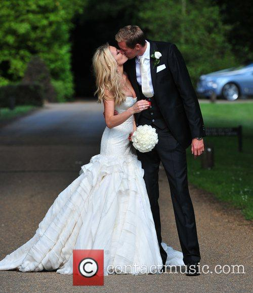 Peter Crouch and Abigail Clancy 8