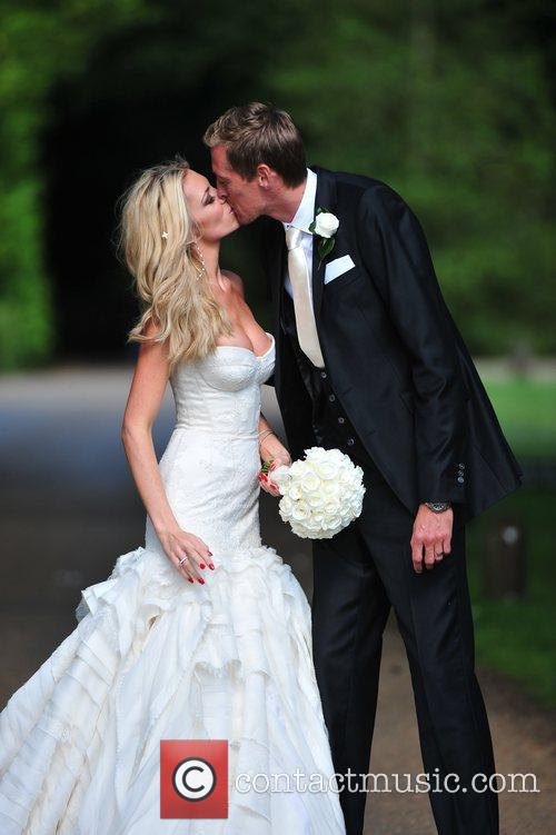 Peter Crouch and Abigail Clancy 11
