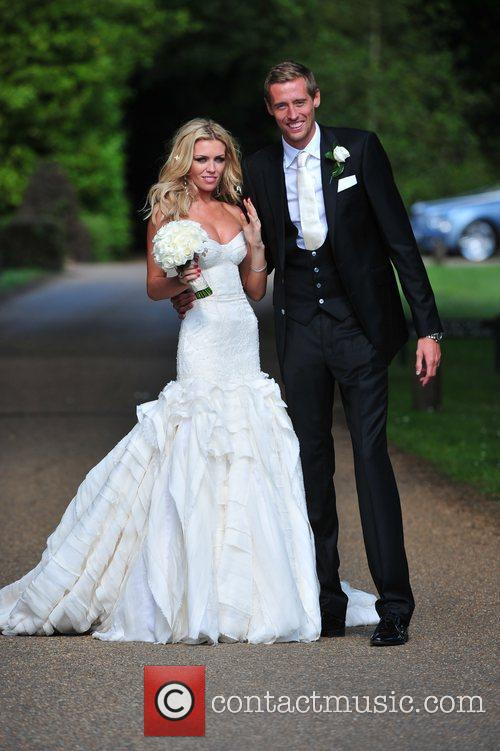 Peter Crouch and Abigail Clancy 10