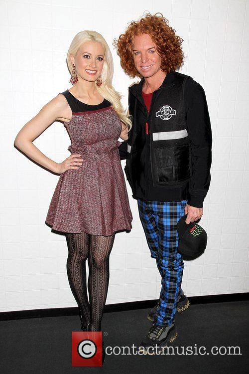 Holly Madison and Carrot Top CSI: The Experience's...