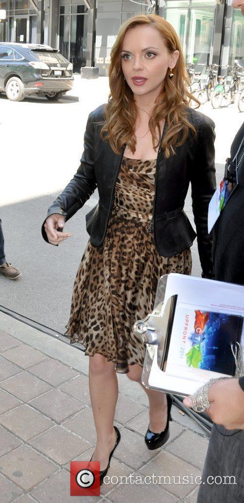 CTV Upfront 2011 press conference - Outside Arrivals