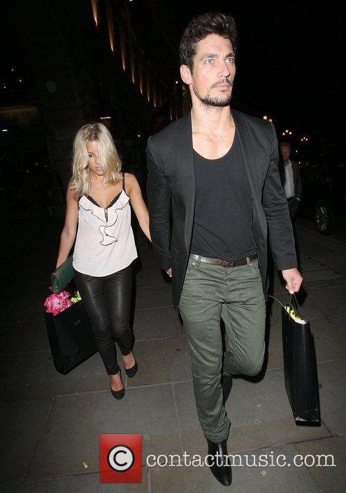 David Gandy, Mollie King and The Cuckoo 14