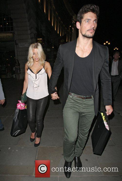 David Gandy, Mollie King and The Cuckoo 6