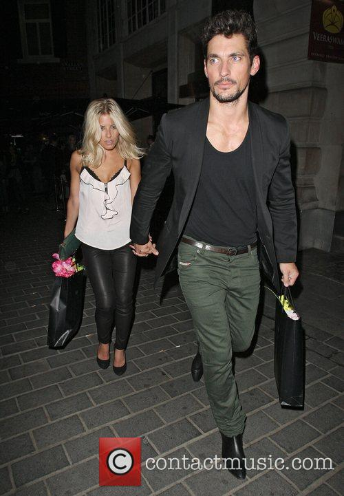 David Gandy, Mollie King and The Cuckoo 8