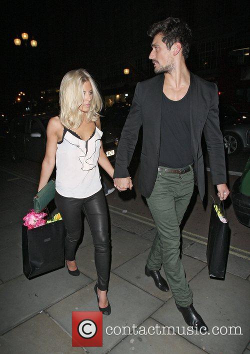 David Gandy, Mollie King and The Cuckoo 12