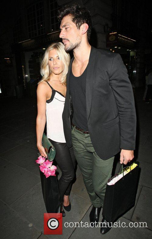 David Gandy, Mollie King and The Cuckoo 1
