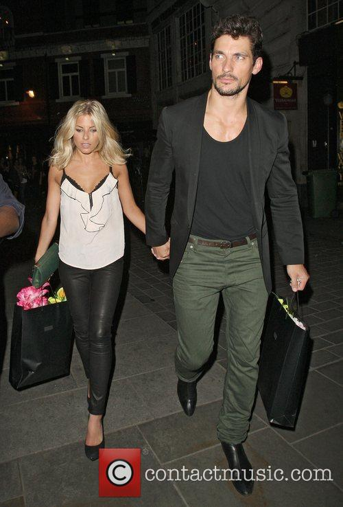 David Gandy, Mollie King and The Cuckoo 9