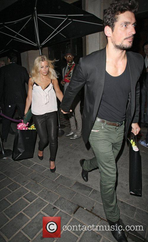 David Gandy, Mollie King and The Cuckoo 5