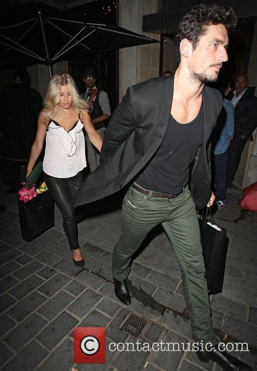 David Gandy, Mollie King and The Cuckoo 4