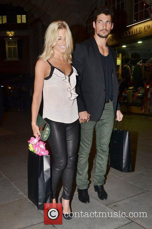 David Gandy, Mollie King and The Cuckoo 16