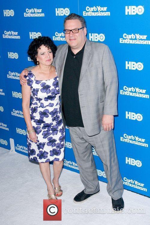 Susie Essman and Jeff Garlin