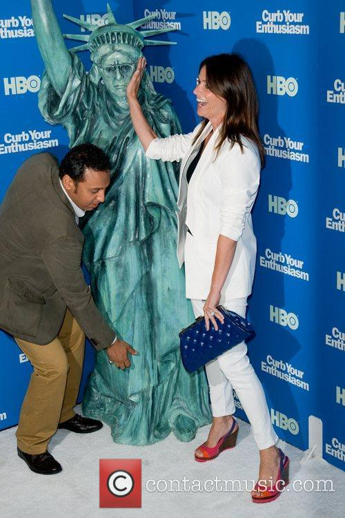 Aasif Mandvi and Amy Landecker Screening of the...