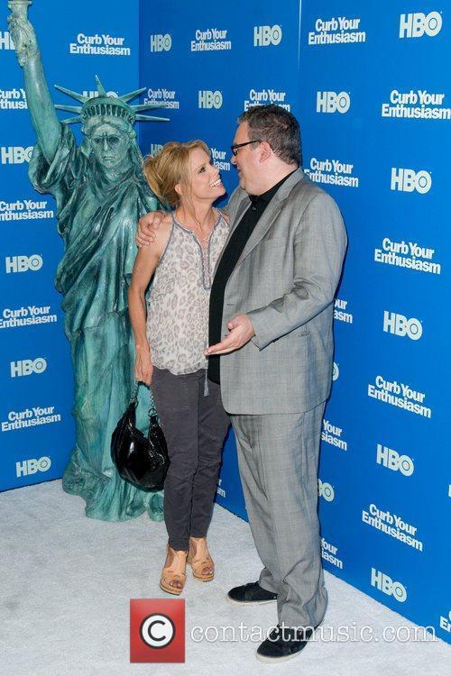 Cheryl Hines and Jeff Garlin Screening of the...