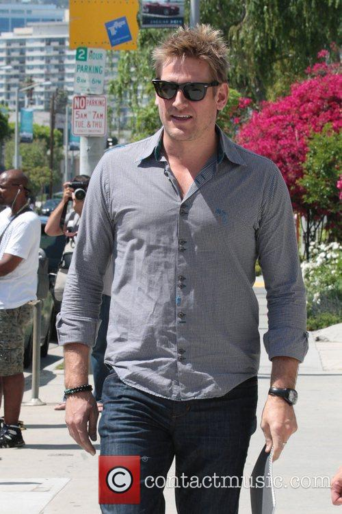 Curtis Stone out shopping in West Hollywood