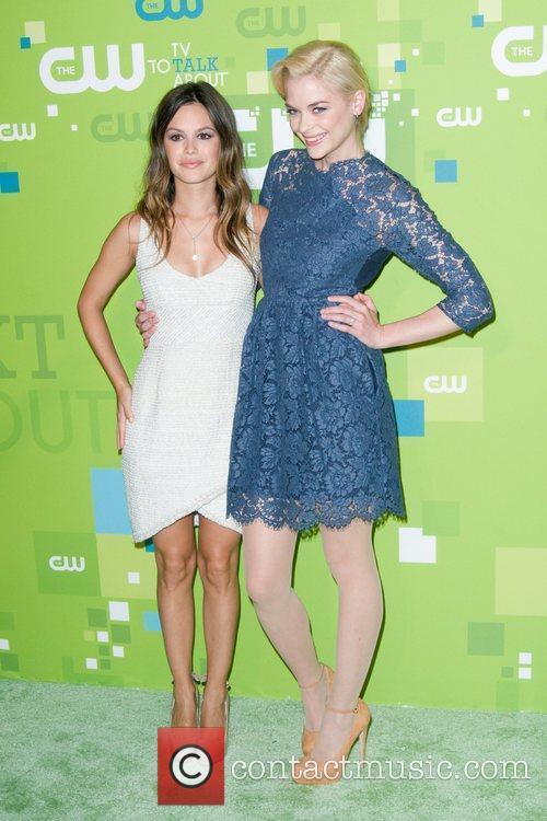 Rachel Bilson and Jamie King 2011 CW upfront...