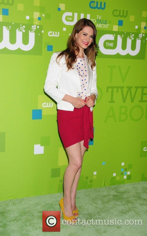 Lindsy Fonseca 2011 CW upfront presentation - Arrivals...