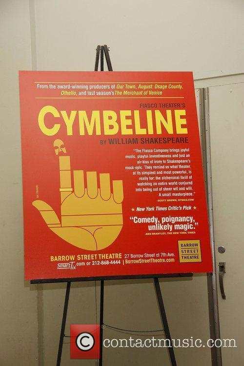 Opening night reception for the Off-Broadway production of...