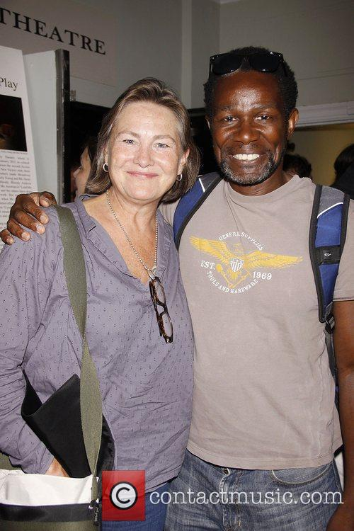 Cherry Jones and John Douglas 1