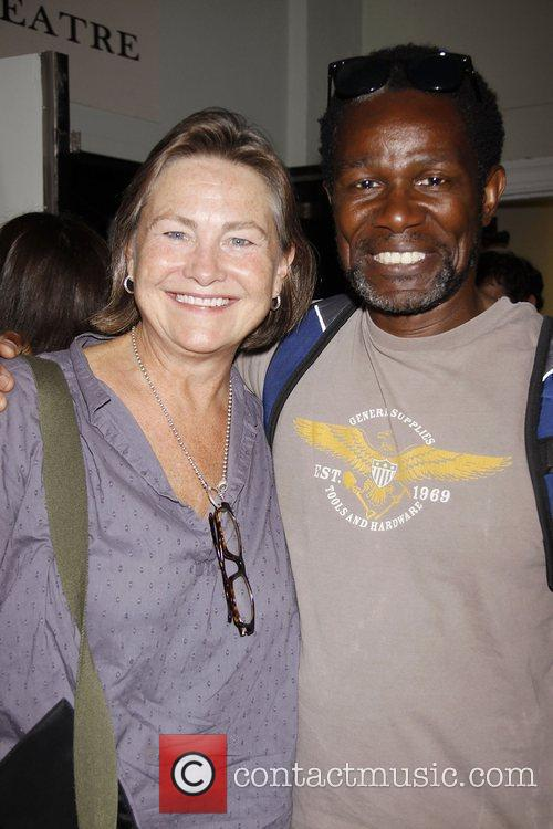 Cherry Jones and John Douglas